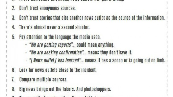 Breaking News Consumer's Handbook
